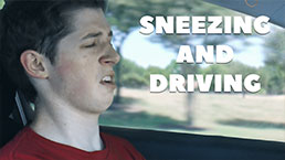 Sneezing and Driving